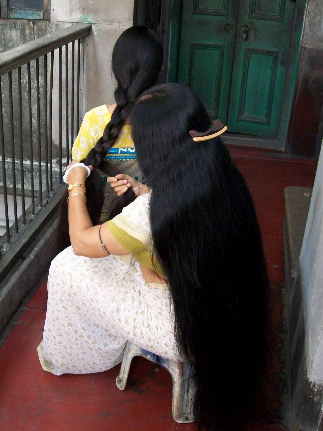 indian long hair images