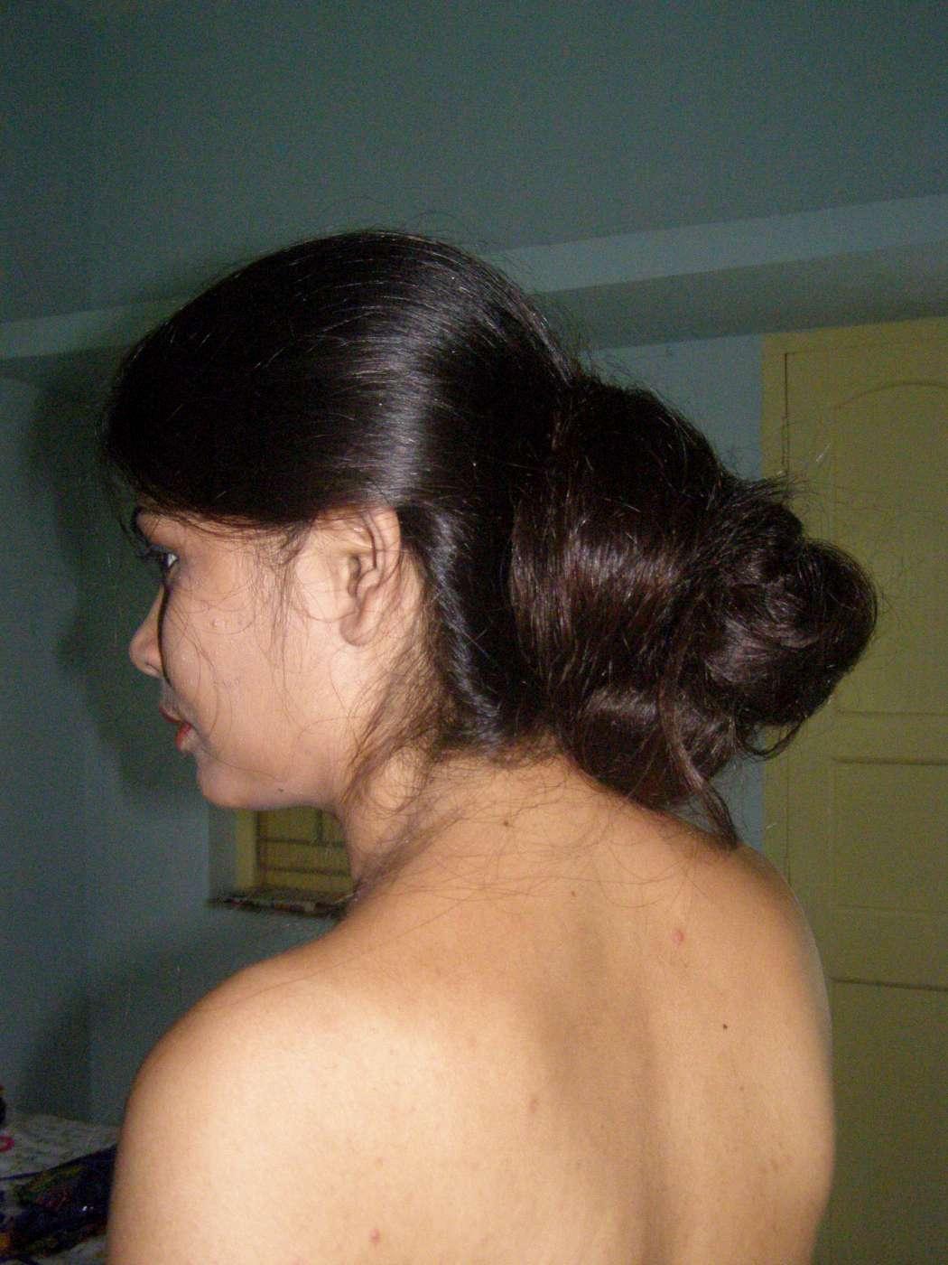 long hair model athenea