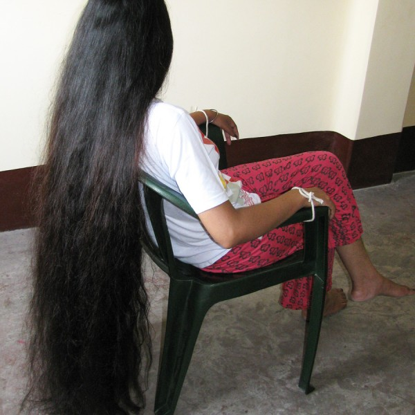 long hair bondage