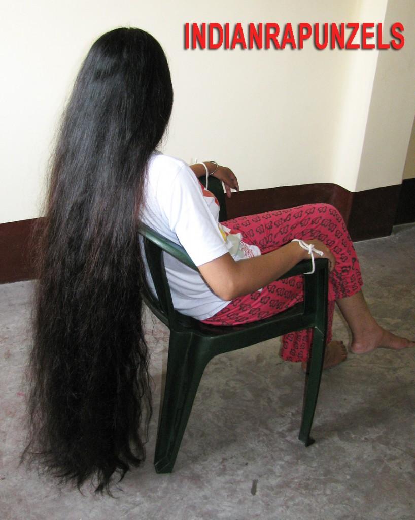 long hair bondage