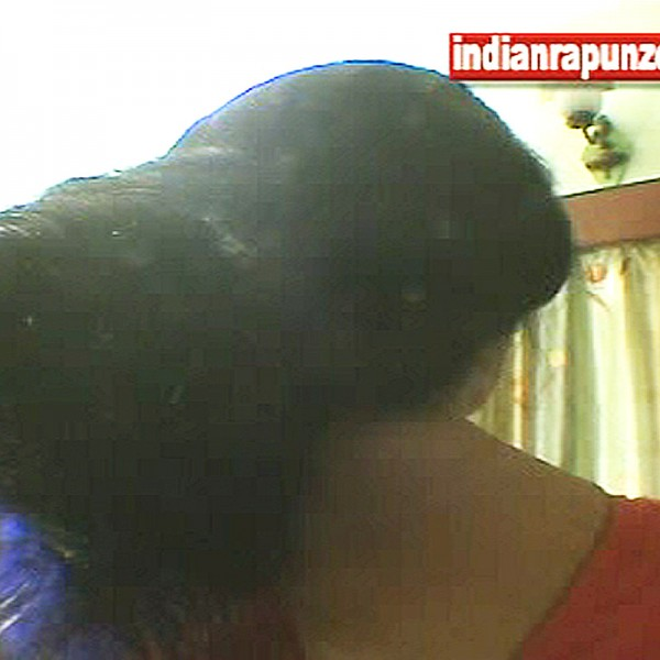 floor length hair play video