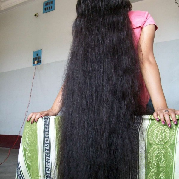 long hair play