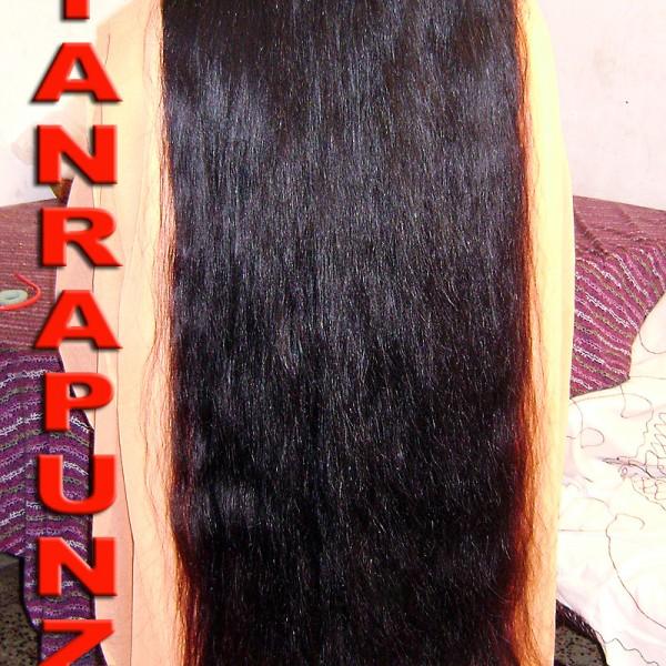 beautiful long hair video