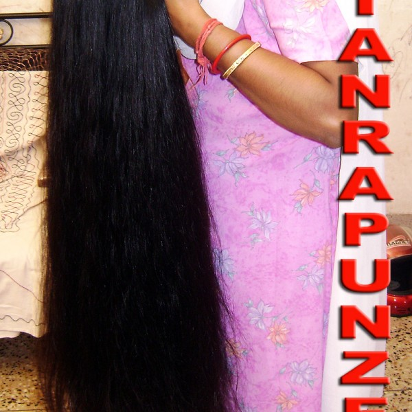 beautiful long hair video