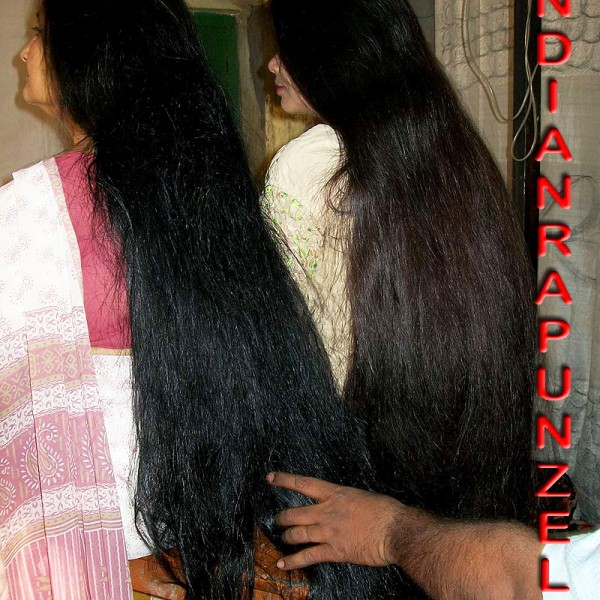 long haiir aunty