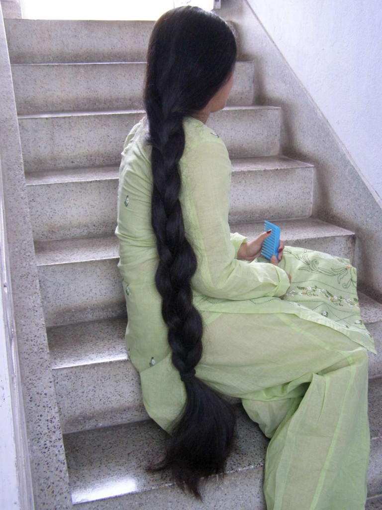 very long hair play