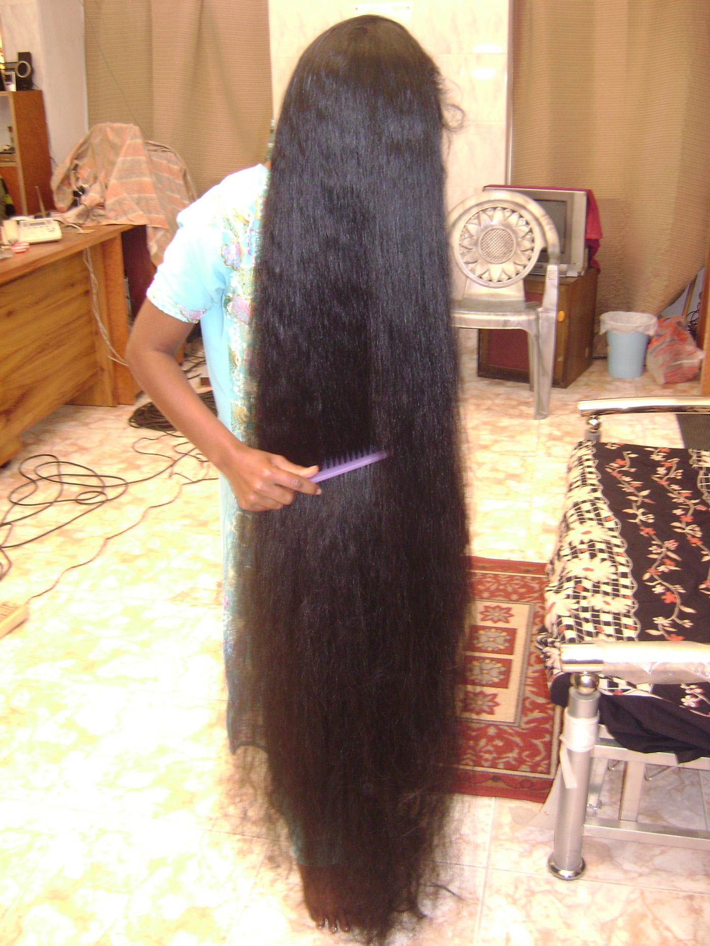 Xa Ankle Length Silky Long Hair Video