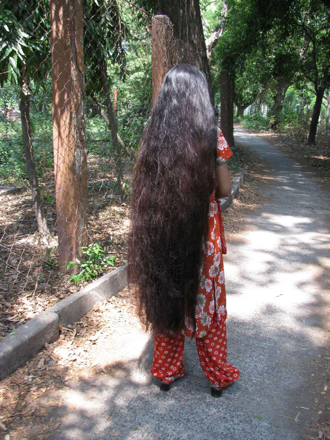 very long hair photo