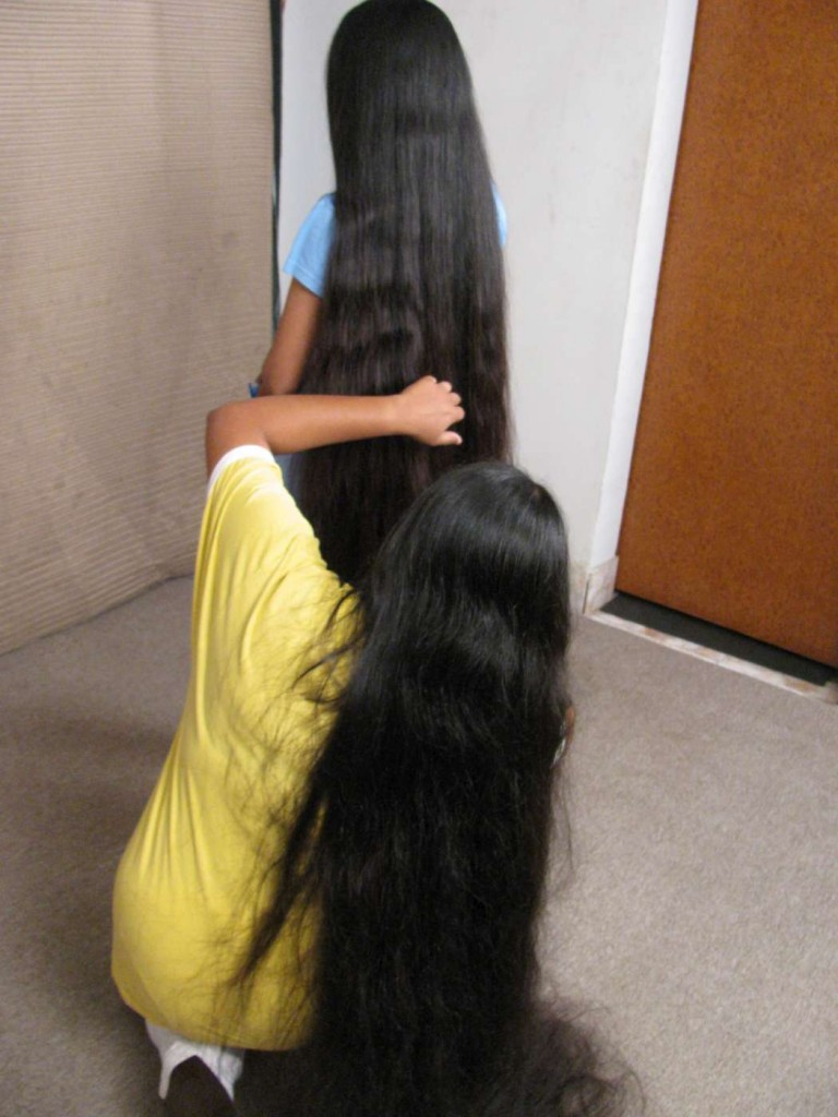 combo long hair video