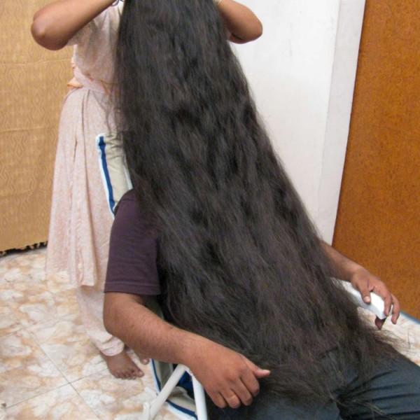 thick long hair play