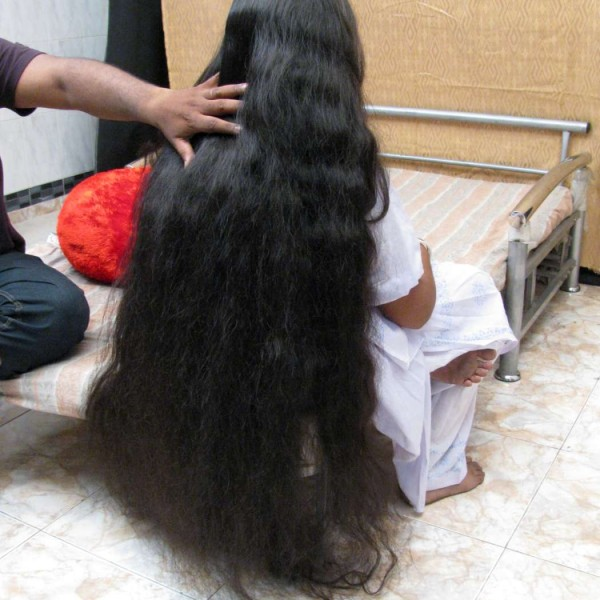 thick long hair play