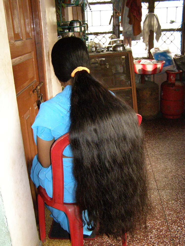 long hair photos