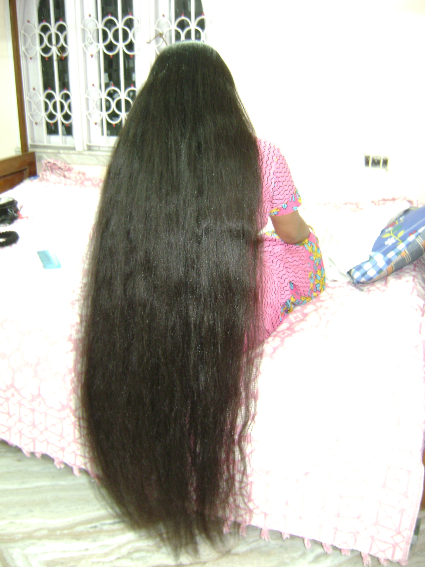 long hair images