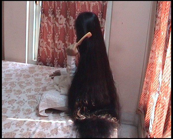 first long hair lady