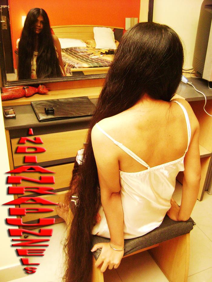 long hair styling